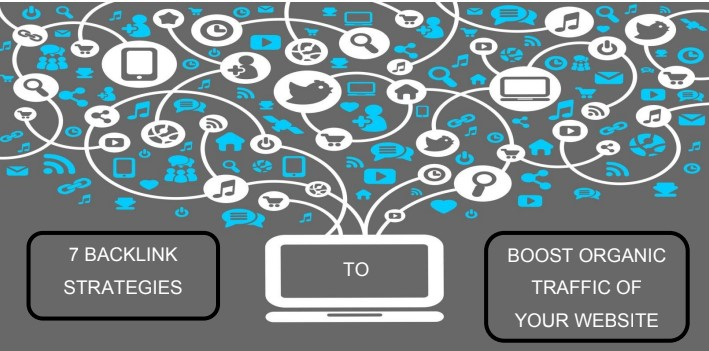 7 backlink Strategies to boost organic traffic of your website